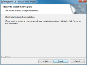 Project64 - Install Confirmation