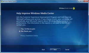 WMC - 04 - Customer Experience Improvement Program