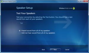 WMC - 09 - Speaker Test