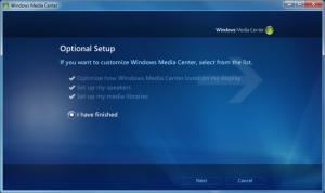 WMC - 12 - Optional Setup Finished