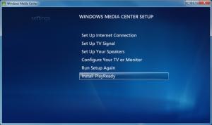 WMC - 17 - Settings_General_WMC Setup_PlayReady