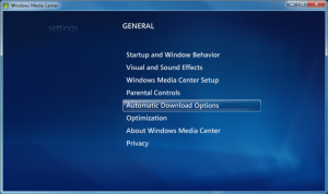 WMC - 20 - Settings_General_Auto Download