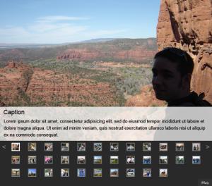 Sample AnythingSlider slide show DVWP