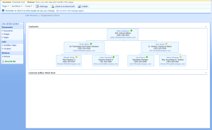 Org Chart with IE CSS