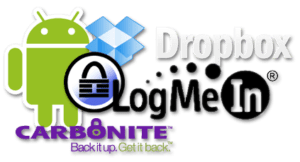 Android + Dropbox + KeePass + LogMeIn + Carbonite