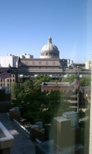 View from the Sheraton Boston