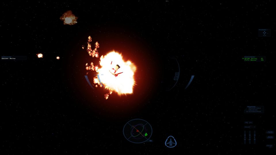 Screenshot of FS2 Open in Eyefinity 3